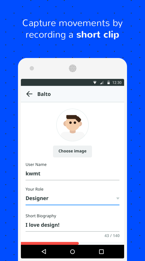 Balto - beta meets feedback- screenshot