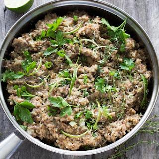 Buckwheat Mushroom Risotto