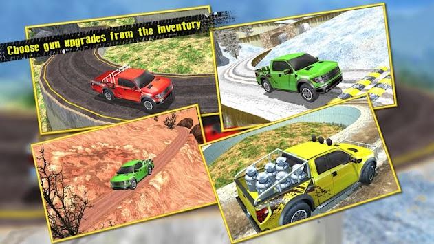 Off - Road Pickup Truck Simulator apk screenshot