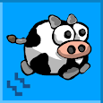 Flappy Cow: When Cows Fly icon