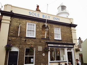 Photo: The lovely Sole Bay Inn serves as the brewery tap for Adnams in Southwold.