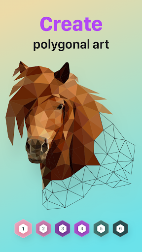 POLYGON : Coloring-Booku2219 Poly Art by Numbers 1.9 Pc-softi 14