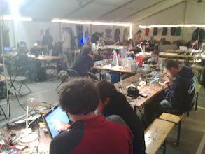 Photo: hardware tent