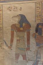 Photo: QV55, tomb of Amenherkhepshef - guardian?