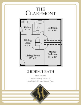 Go to Claremont Floorplan page.
