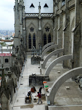 Photo: Flying buttresses, left side