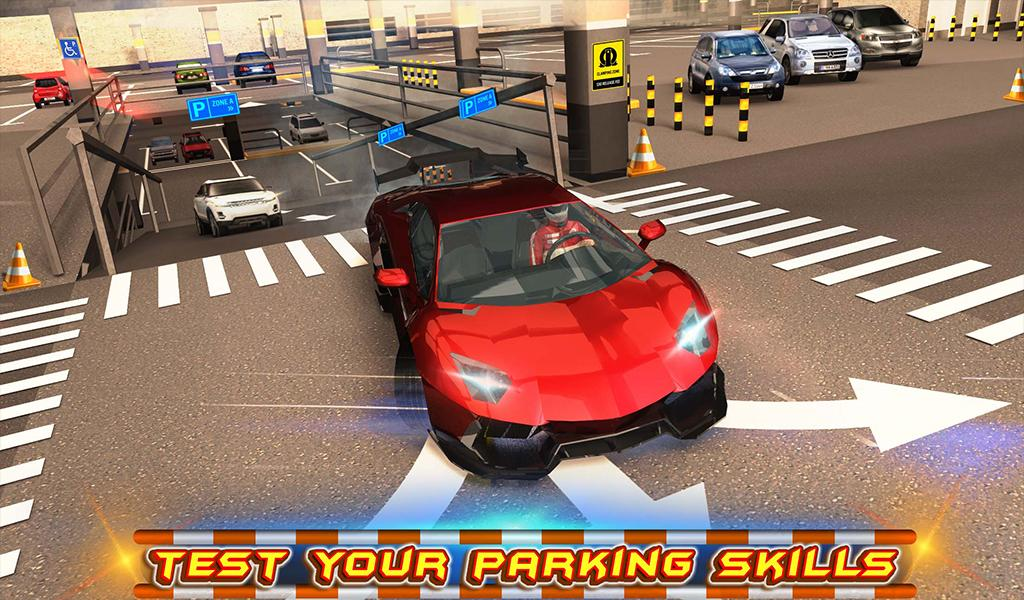 #12. Multi-storey Car Parking 3D (Android)