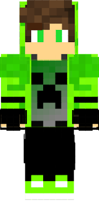 the creeper mutant boy