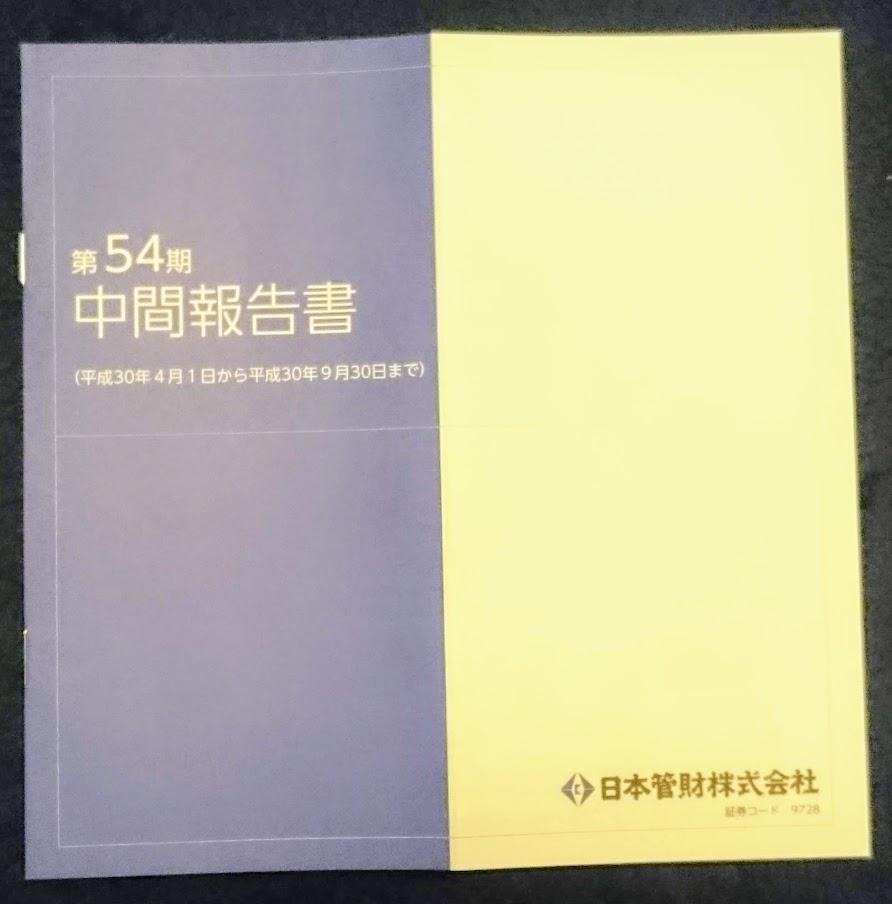 【株主優待】日本管財(株)【9728】の株主優待が届きました。2,000円相当の「ギフトカタログ」です