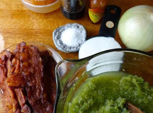 Green Tomato And Bacon Jam Recipe