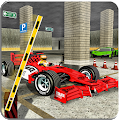 US Police Formula Car Parking Simulator 2018