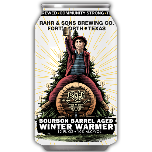 Logo of Rahr & Sons Bourbon Barrel Aged Winter Warmer
