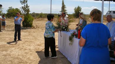 Photo: Les ofrenes que es varen posar damunt l'altar van ser la Branca d'olivera...