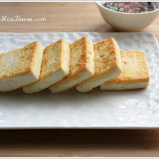 Pan-Seared Tofu with Soy Dipping Sauce
