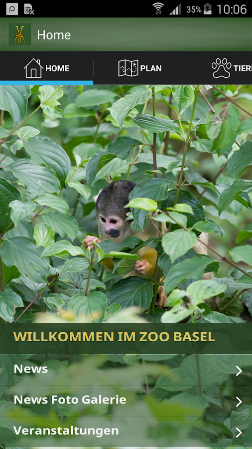 Zoo Basel- screenshot