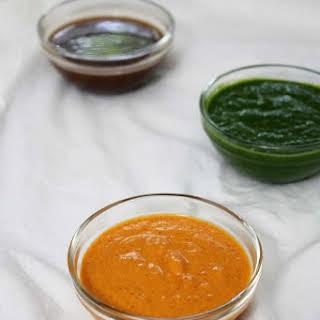 Red Garlic Chutney for Chaat Recipes | Spicy Garlic chutney.