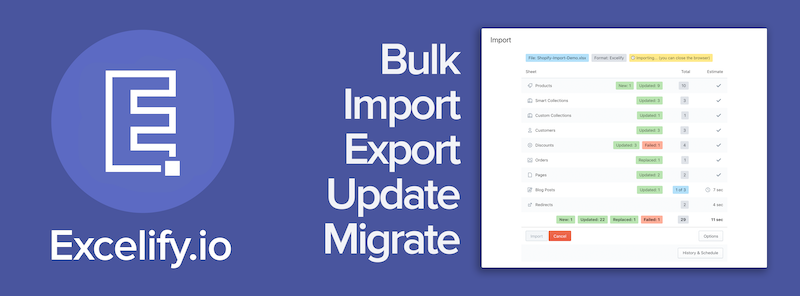 product importer app shopify