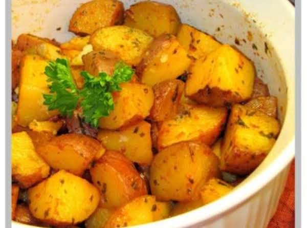 Buttery Garlic Potatoes Recipe