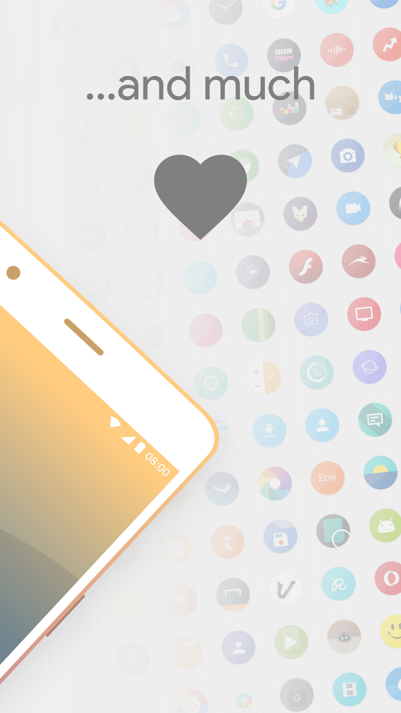 Talitha Round - Icon Pack Screenshot 3