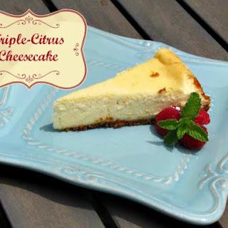 Triple-Citrus Cheesecake Recipe