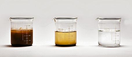 água produzida