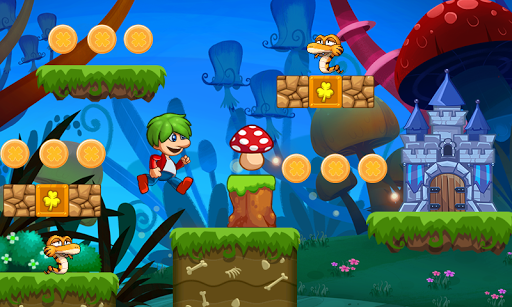 Victou2019s World - jungle adventure - super world 1.6.9 APK MOD screenshots 1