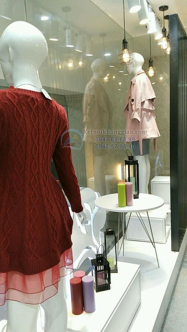 thiết kế và thi công shop thời trang đẹp tại hà nội
