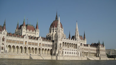 Photo: Budapest Parliament building view from the river cruise