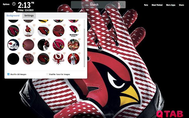 Arizona Cardinals Wallpapers Theme New Tab