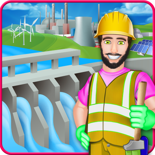 Village Farm Dam Fix It - Game for Kids
