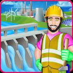 Village Farm Dam Fix It - Game for Kids Icon