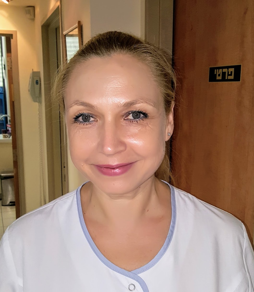 """אינה רודנקו, סייעת - ד""""ר גיא וולפין, רפואת שיניים ואסתטיקה דנטלית, שיקום הפה - פתח תקווה"""