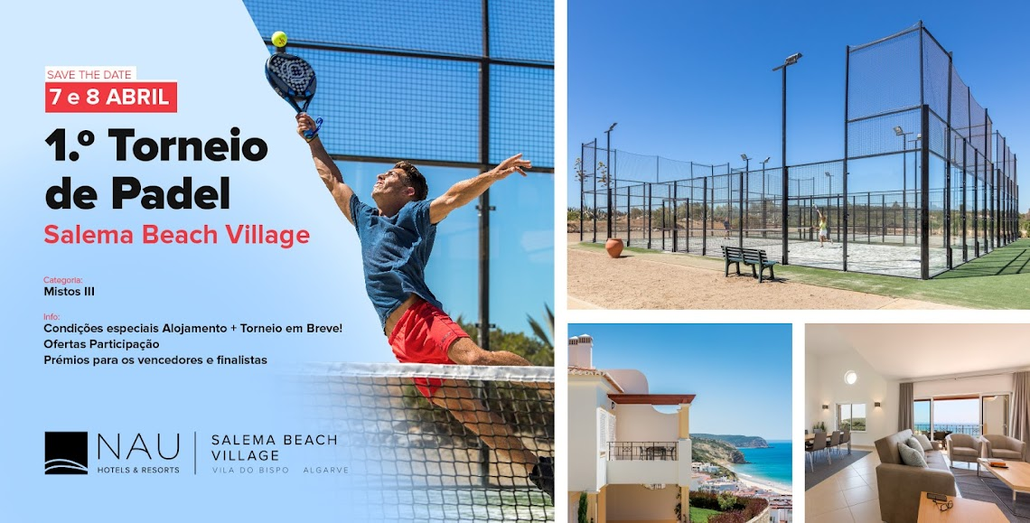 Salema Beach Village recibe Torneo de Padel