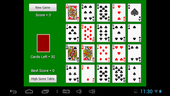 Celerity Solitaire - náhled
