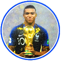 The Blues World Champions 2018- Mbappe Wallpaper icon