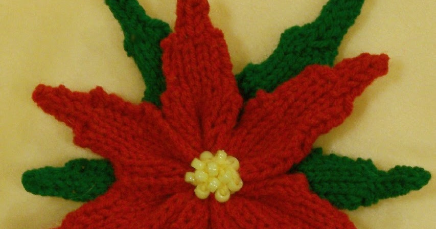 Loom Lore Poinsettia On The Knitting Loom