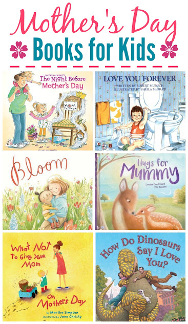 Celebrate Mother's Day with extra snuggles while you read these 10 Mother's Day Books for Kids