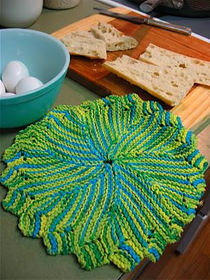Beginner Knitting Patterns-Easy Beginner Dishcloth