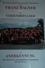 Photo: Die Ehrenurkunde