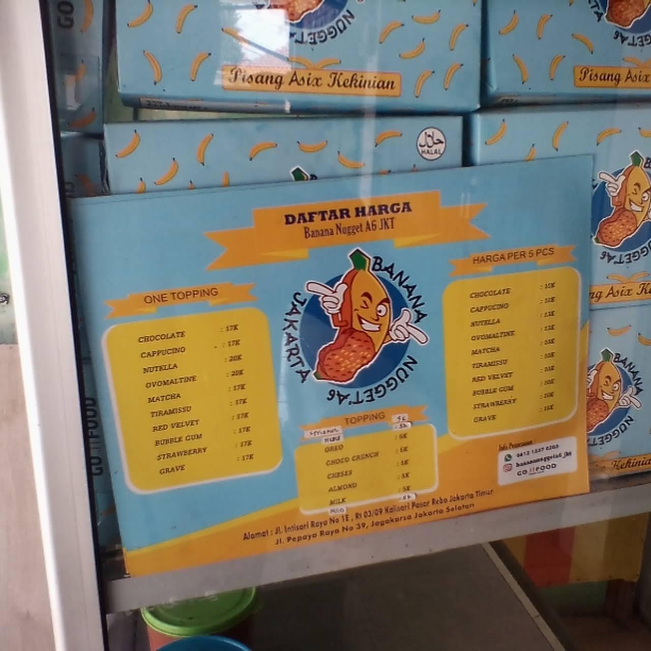 Banana Nugget A6 Jakarta Toko Makanan