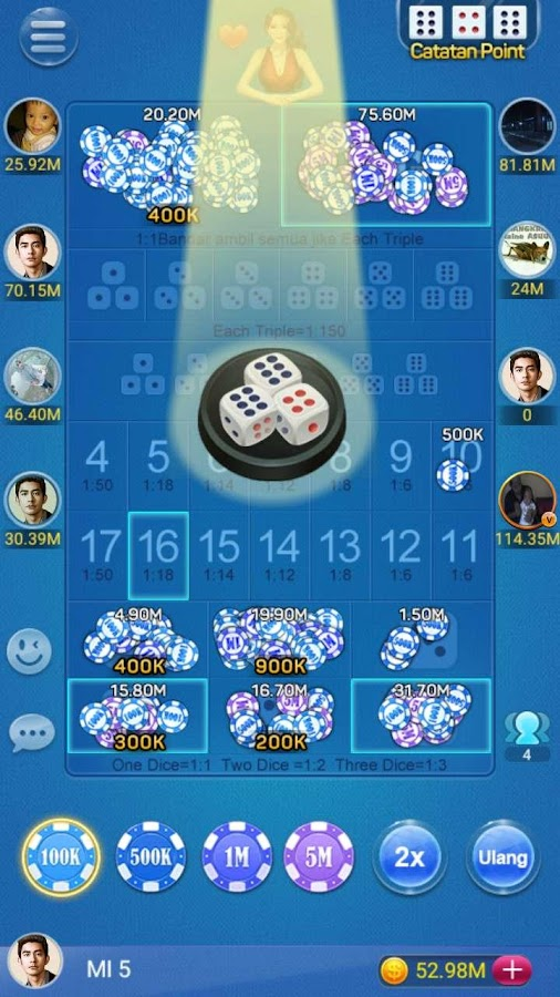 Sic Bo ( Dice Game )- screenshot