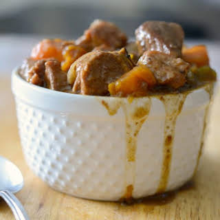 Crock Pot Hungarian Pork Stew.