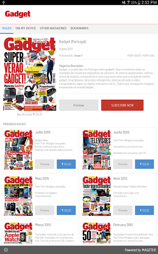 Gadget Portugal Revista