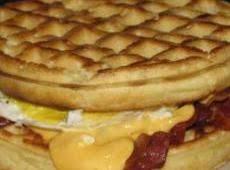 Breakfast Waffle Sandwich Recipe