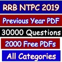 RRB NTPC 2019 Question Bank and PDFs-GKPK Affairs icon