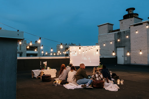 How to Make an Outdoor Cinema