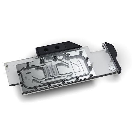 EK vannblokk for skjermkort, EK-Quantum Vector RTX RE D-RGB - Nickel + Plexi