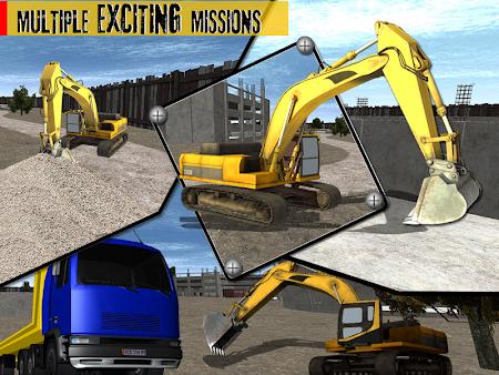 Sand Excavator Crane 1.1 screenshot 70014
