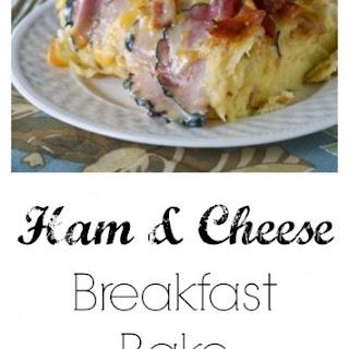 Ham and Cheese Breakfast Bake