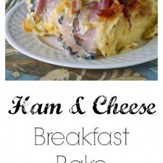 Ham and Cheese Breakfast Bake.